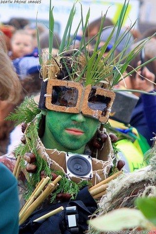 Hastings Jack in the Green 2019 - A photo taken on West Hill