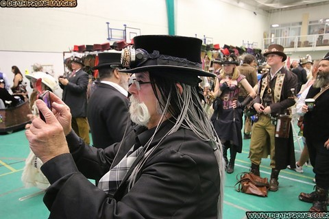 Photo of the amazing Hastings Steampunk Extravaganza 2018